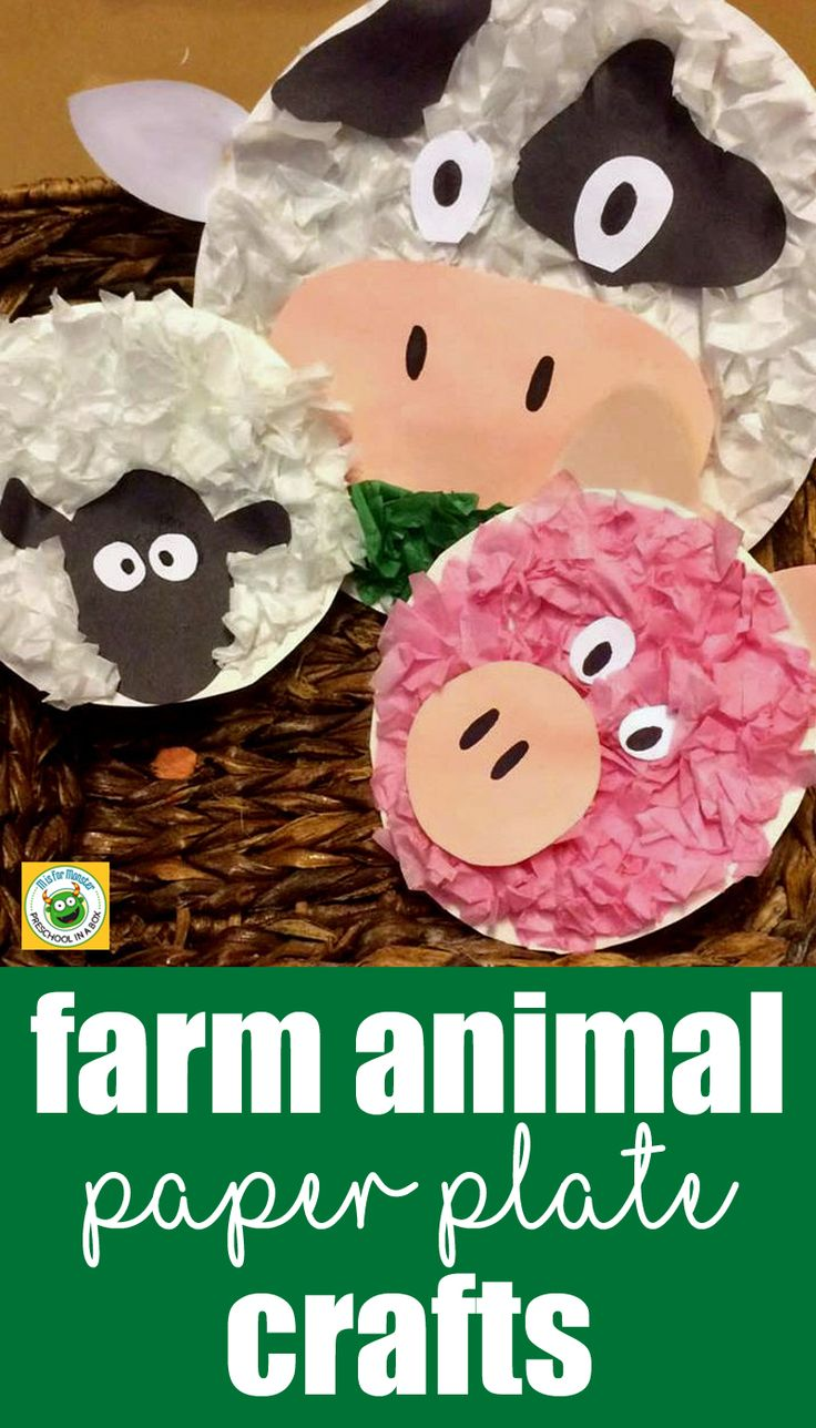 Farm Animal Friends: A Paper Plate Crafts For KidsM is for Monster | Preschool and Toddler Learning Activities and Crafts