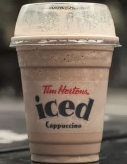 Artsy Fartsy Annie: Tim Horton's Home made Ice Capp !