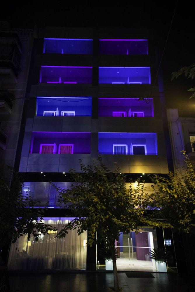 Η εξωτερική όψη του ξενοδοχείου