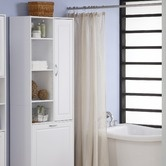Found it at Wayfair - Storage and Laundry Tower in White