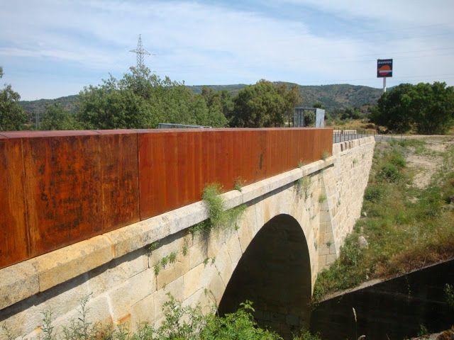 Puente de Romanillos en Aldeanueva del camino (#Cáceres) Creativa arquitectos