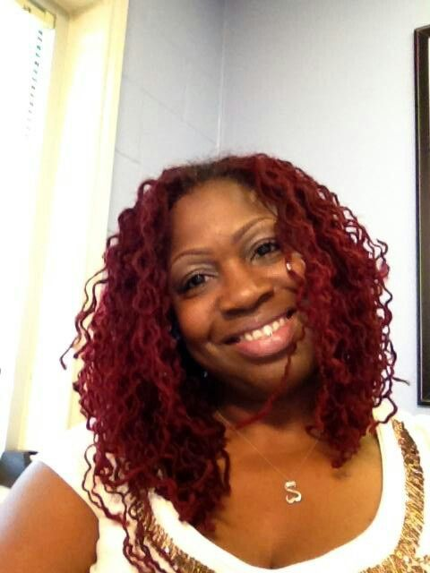 Sisterlocks RED!