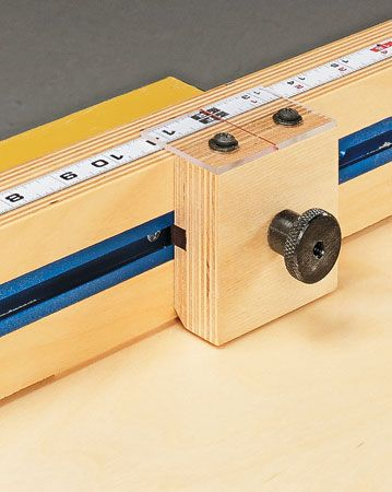 Square, accurate crosscuts for perfect project parts are a sure thing with this heavy-duty sled.