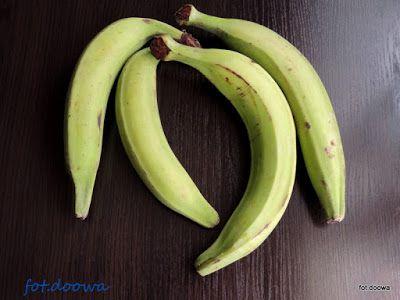 Moje Małe Czarowanie: Plantan, platan, banan warzywny, banan zwyczajny