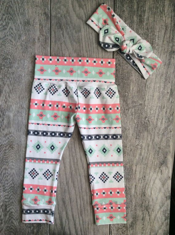 This super sweet set of leggings and headband is great for babies and toddlers! It is stylish for your baby and makes a great gift that anyone