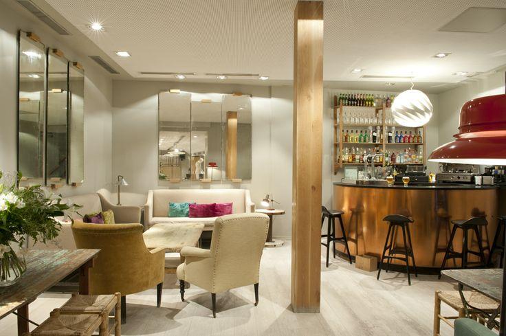 Sala planta sótano de #SantaAna . ideal para grupos #gastronomía #interiorismo #decoración
