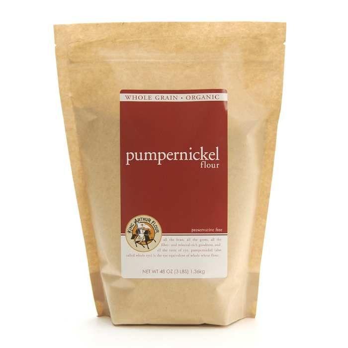 King Arthur Organic Pumpernickel Flour - 3 lb.