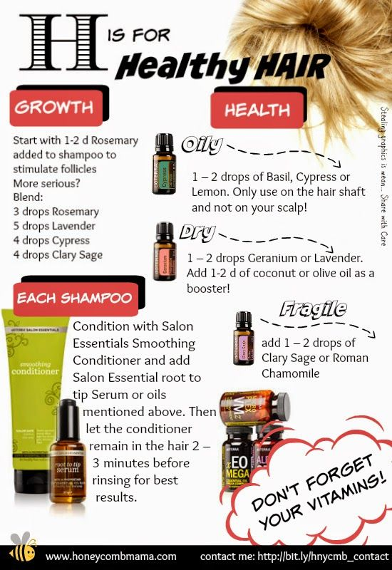 HoneycombMama: H is for Healthy Hair: Essential Oils for your Tresses!