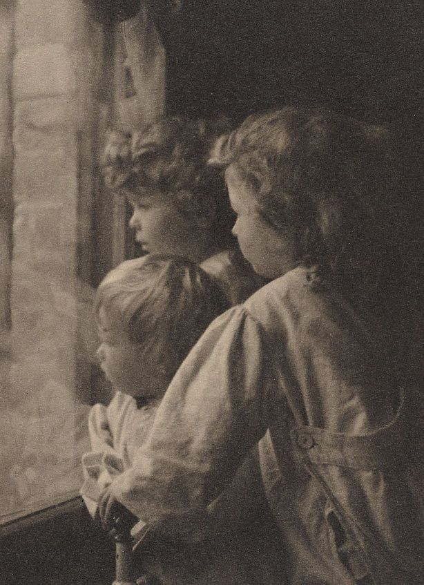 The outlook, ca 1912, Harold Cazneaux