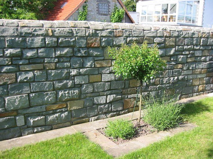 New Finde mediterraner Garten Designs Mauersteine Anr chter Dolomit bruchrau bunt Entdecke die
