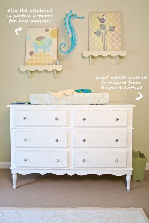 Vintage dresser turned changing table...Exactly what i will do with a vintage dresser i have here.
