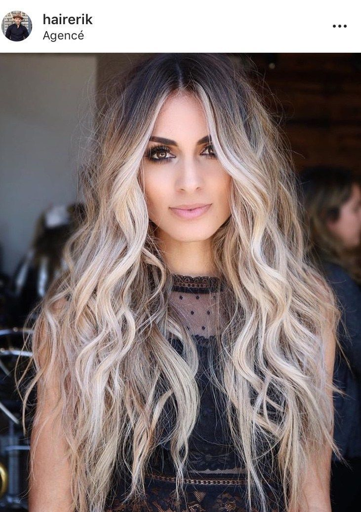 Ideas To Go Blonde Long Icy Balayage Allthestufficareabout Com Ash Blonde Hair Hair Styles Curly Hair Styles