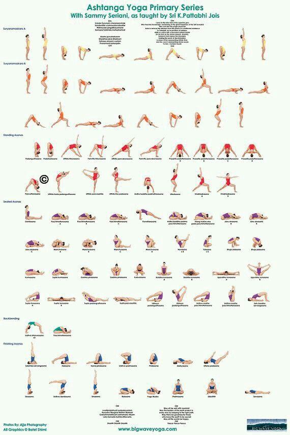 Series de ejercicios de yoga. www.rubenentrenador.com