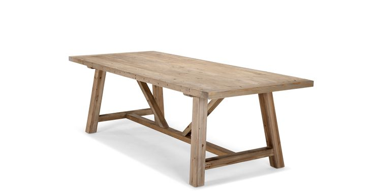 Iona Extra Larger Dining Table, Solid Pine
