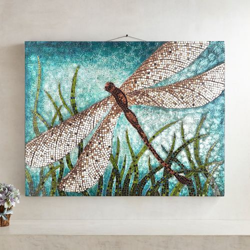 Mosaic Dragonfly Wall Decor Pier 1 Imports Outside