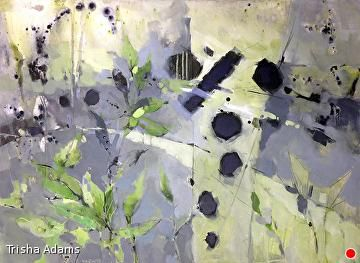"Winter Gives Way to Spring by Trisha Adams Acrylic ~ 30"" x 40"""