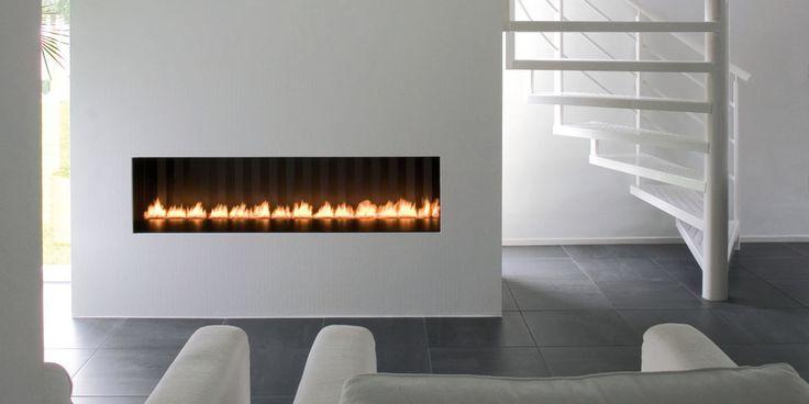 Gasfeuerstellen/Front rechteckig: Dancing Flames 150