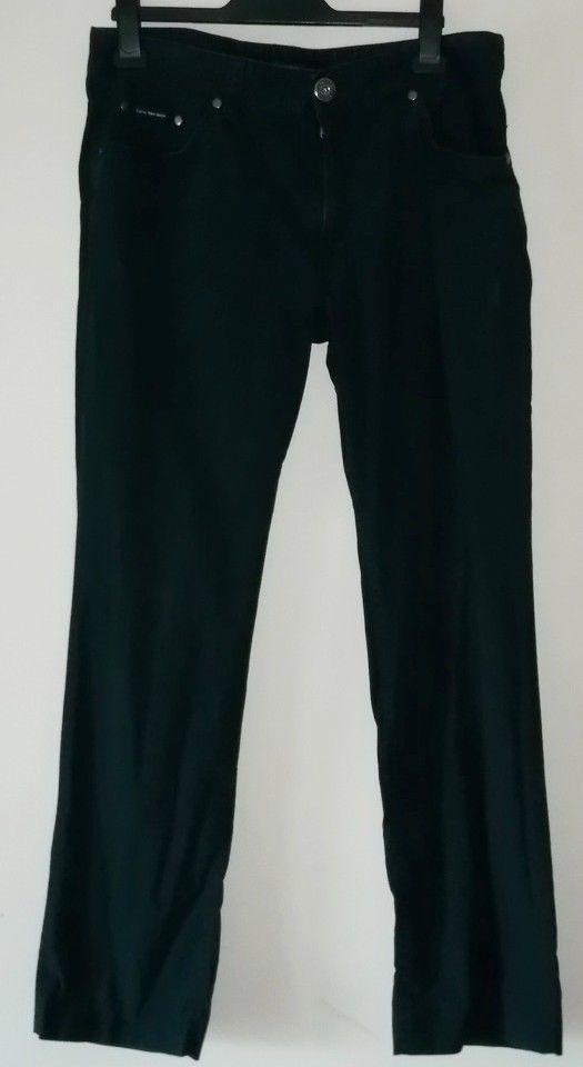 Calvin Klein Jeans Mens Size W33 L34 Navy Blue #CalvinKlein