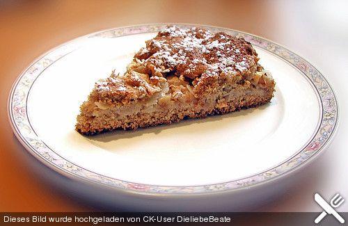 Dinkel - Apfelkuchen, ein schmackhaftes Rezept aus der Kategorie Kuchen. Bewertungen: 9. Durchschnitt: Ø 3,9.