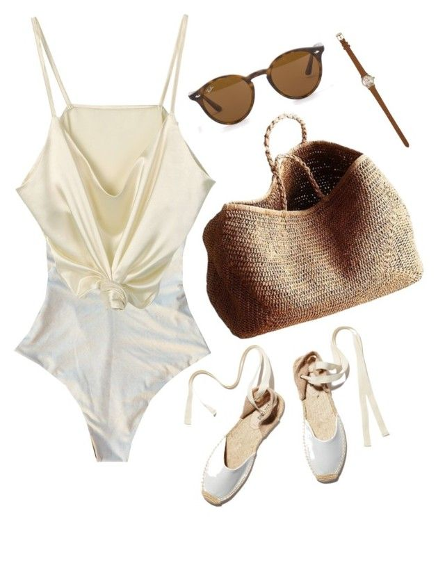 """""""Untitled #49"""" by nagy-bori on Polyvore featuring Soludos, River Island, NORO and Ray-Ban"""