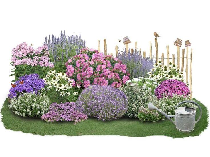 Kreative Einstreuideen für Ihren Garten? Ein komplettes mehrjähriges Blumenbeet mit …   – gartenideen