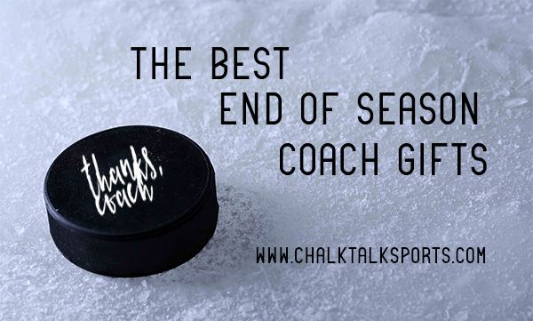 Say thanks to your coach for a great season with any of these hockey coach girts, including SportWORDS, personalized pucks, whistles, jewelry, and more.