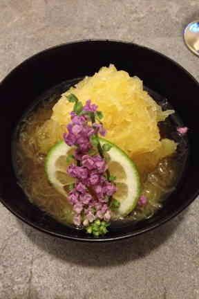 素麺かぼちゃの柚子胡椒椀