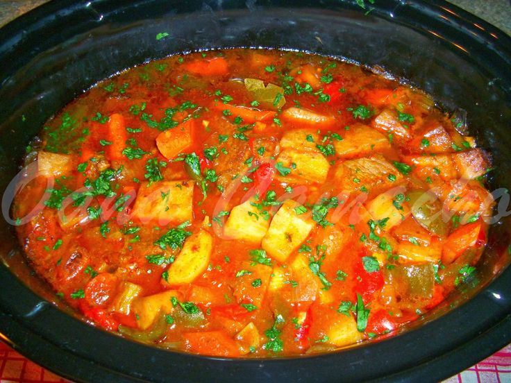 Cooking with love ! : Tocanita de vita cu legume gatita la slow-cooker (…