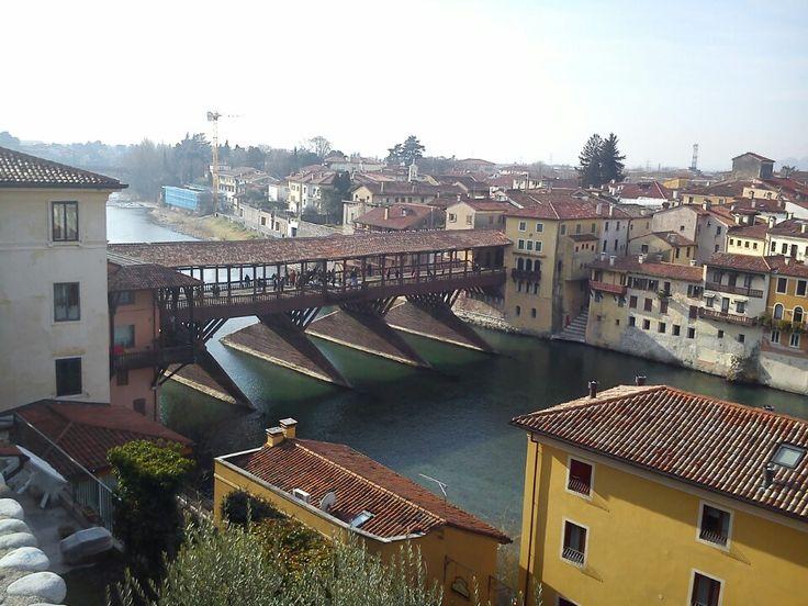 Bassano del Grappa nel Veneto