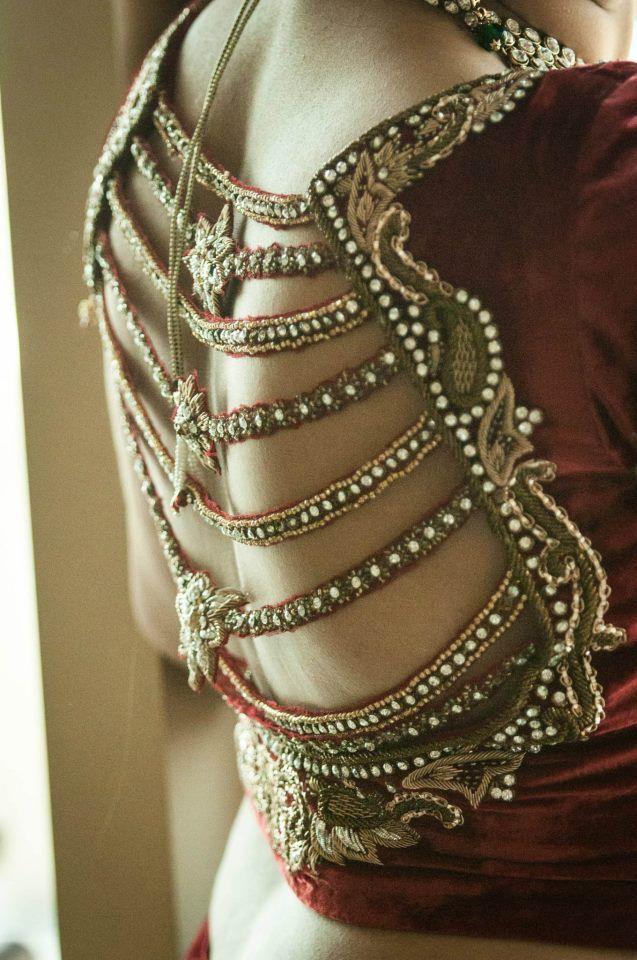 Gorgeous+Saree+Blouse+Back+Designs