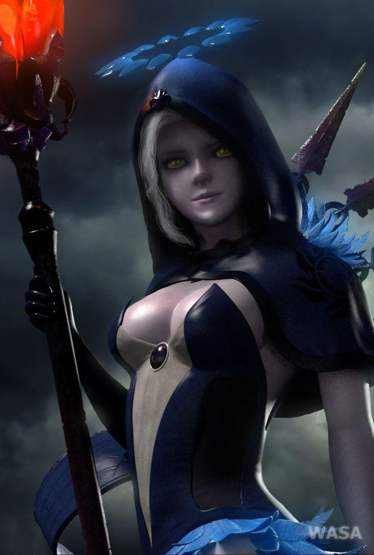 #Sylunis  Fanart  Crusader Quest  3d girl