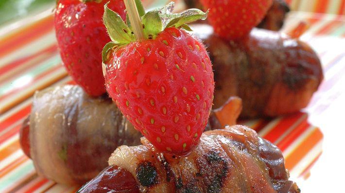 Dadler med bacon - Gjester - Oppskrifter - MatPrat