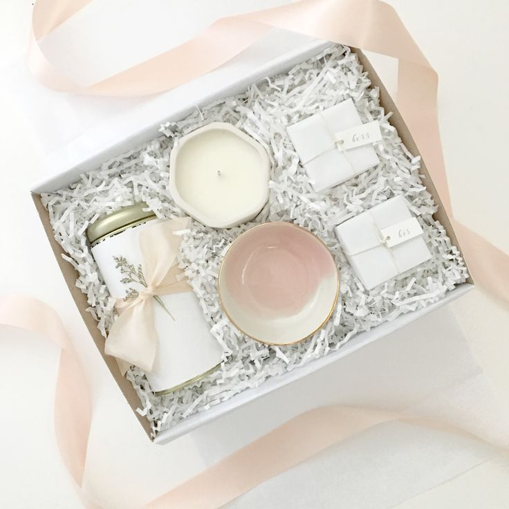 Custom Welcome Client Gift Box For A Wedding Planner Branding Curated