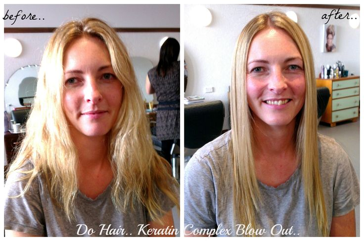Keratin Complex Blow out.. Kara can now enjoy her natural wave without the frizz & cut down her styling time when she does sit down to blow wave & straighten