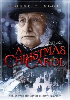 George C. Scott, the best Scrooge EVER....AGREED! I typically dislike most versions of A Christmas Carol, but he makes me like this one! :)