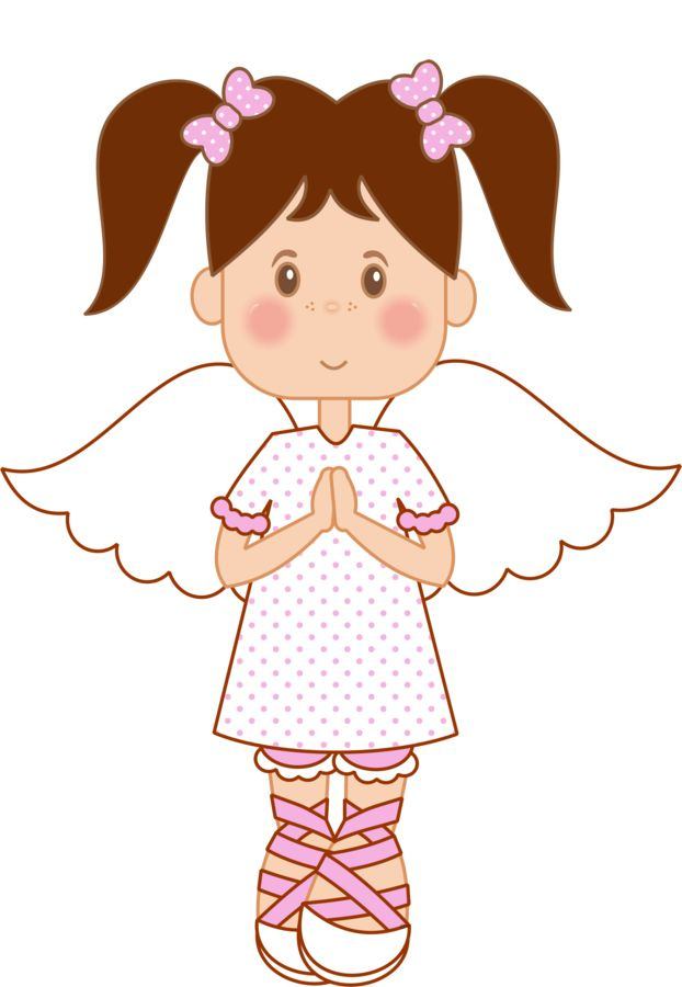 Dibujos. Clipart. Digi stamps - Angel - Girl