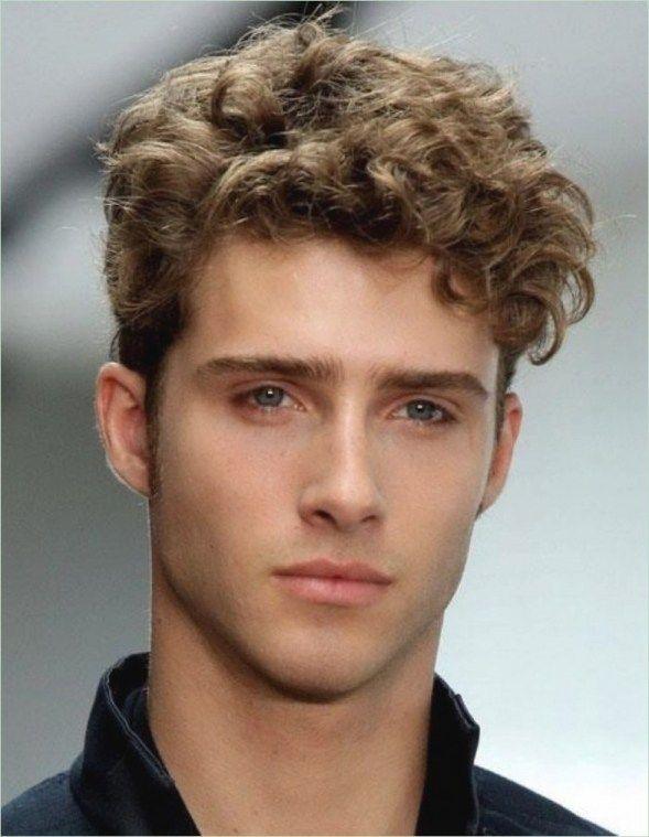 Frisuren Manner Mit Locken Haar Pinterest