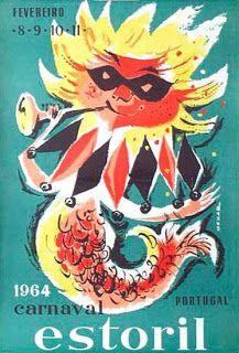 fevereiro .8.9.10.11. 1964 carnaval estoril portugal | 20agetravel portugal