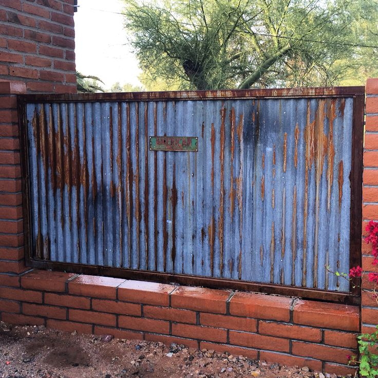 Block Metal Wall Concept I 39 M Building For My House Rustic