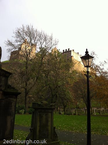 Looking up to Edinburgh Castle - #Edin365. the castle can be visited at any time of year and an ideal place to visit on a january short break  www.2edinburgh.com