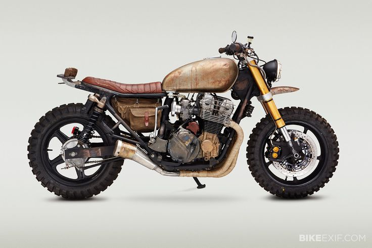 The Top 10 Custom Motorcycles of 2015: Daryl Dixon's motorcycle from The Walking Dead.