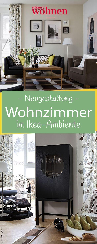 Familie Koch Aus Hamburg Fuhlt Sich Pudelwohl In Ihrem Neu Gestalteten Wohnzimmer Die Vier Haben