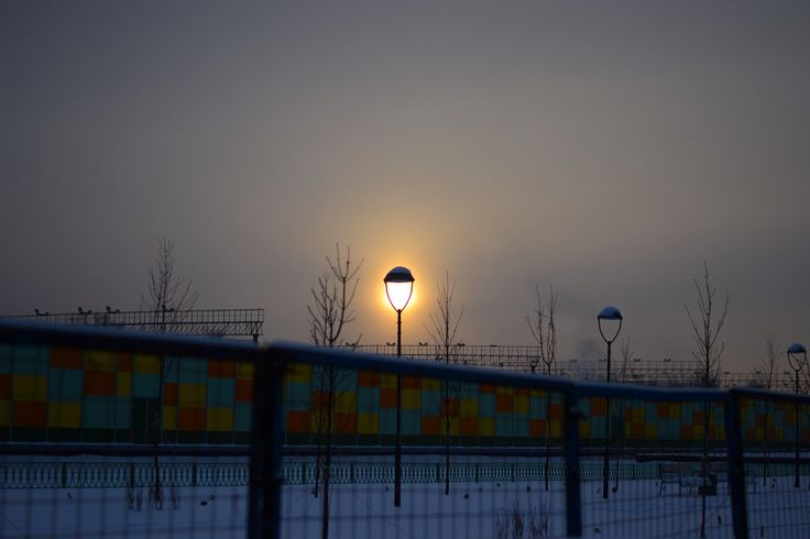 Солнце в фонаре