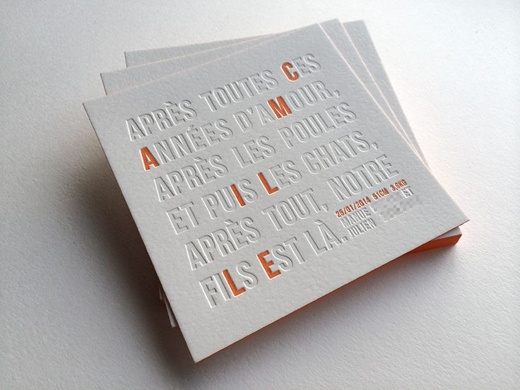 Badcass - Faire-part de naissance en letterpresshttp://www.badcass.com