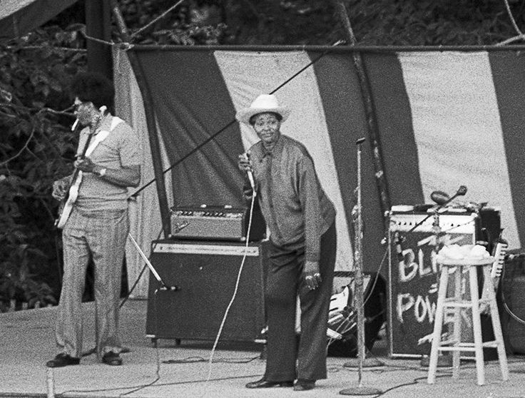 Big Mama Thornton at Lenox, about 1970