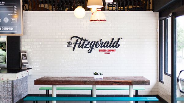 Pixelarte is a design studio based in Valencia, Spain and they were responsible to develop the global corporate identity including the branding, packaging, guides and interior design for the Fitzgerald Burger Company also located in Val