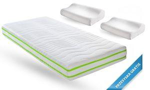 Oferta: Od 499 zł: 7-strefowy materac Eco Line by Oxam ze zdejmowanym pokrowcem i 2 poduszkami gratis, w [missing {{location}} value]. Cena: 499zł