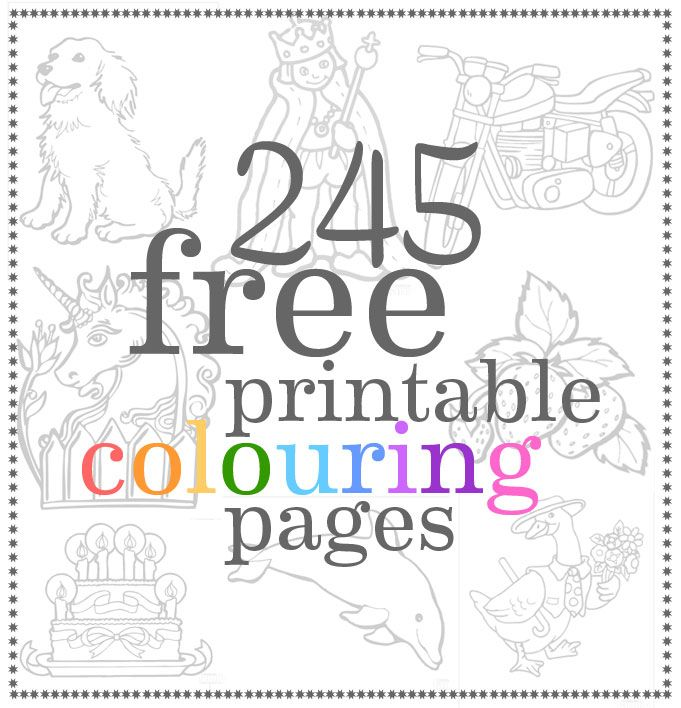 25 best ideas about Printable colouring pages on Pinterest  Free