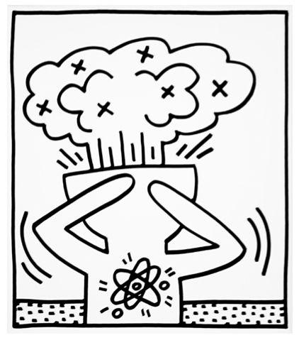 Explosive Figures II by Keith Haring https://artsation.com/en/shop/keith-haring