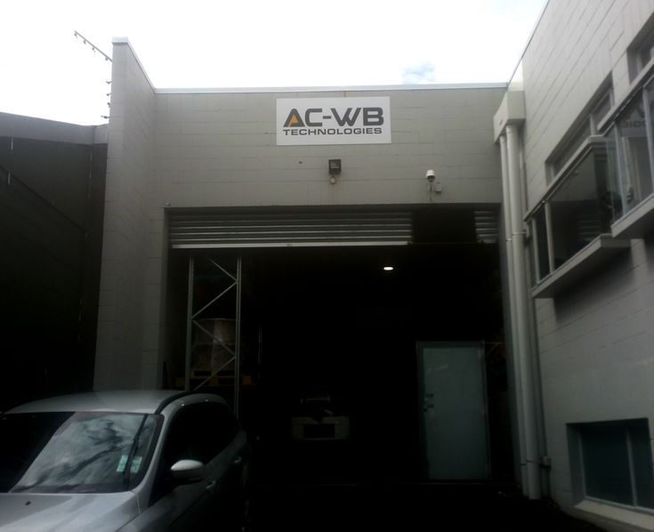 ACM sign for AC-WB by Speedy Signs Newton